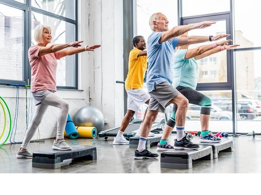 平衡訓練融入高齡者的運動