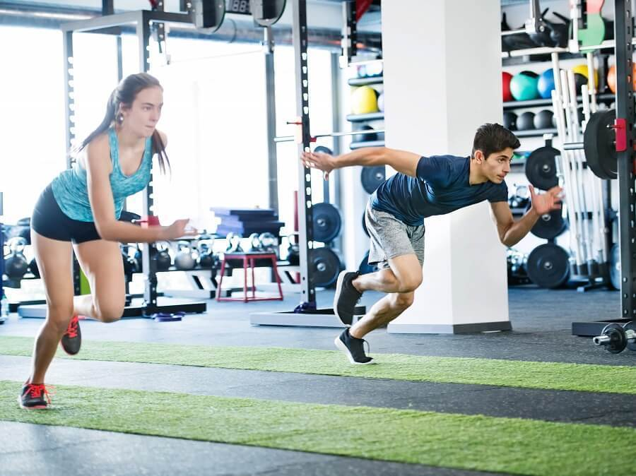 高強度間歇跑對人體的影響