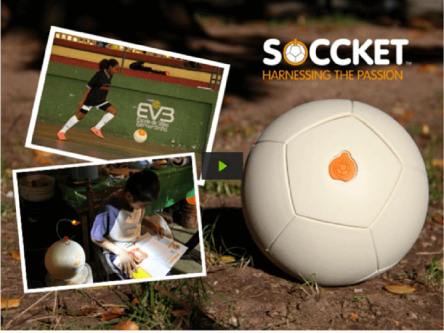 SOCCKET-充電足球