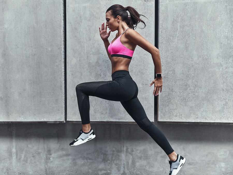 跑步穿戴式科技