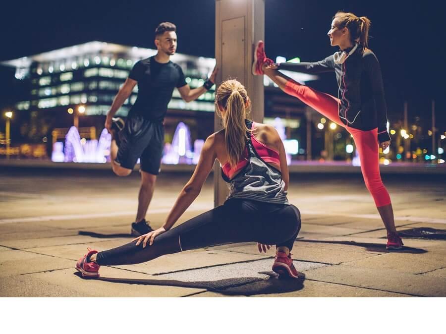 運動強度與身體活動量的關係