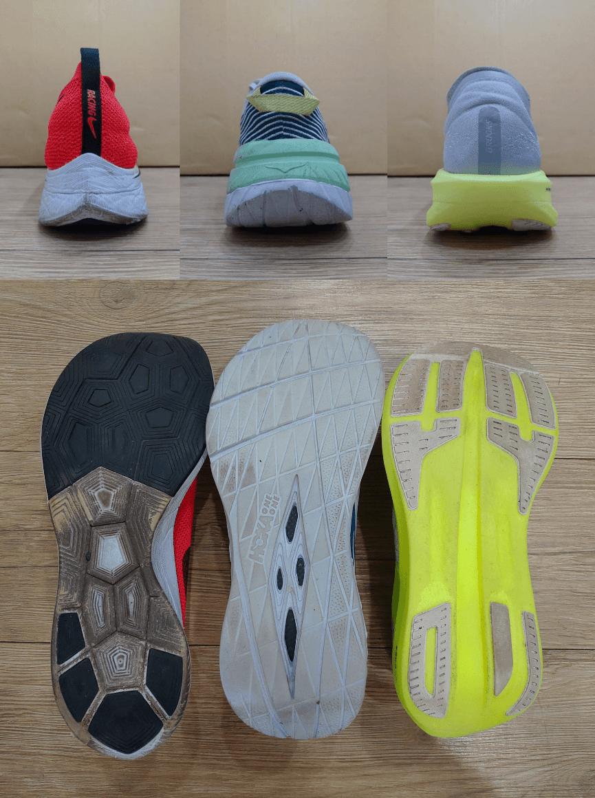 不同跑鞋結構對著地穩定性的影響