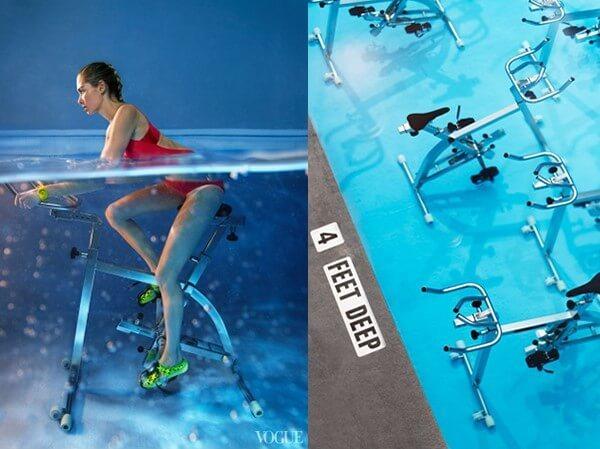 FitWetHydroWorx-水中自行車