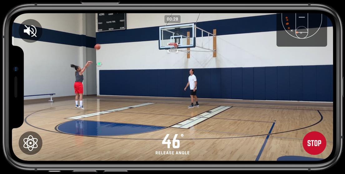「HOMECOURT」:智慧投籃訓練APP