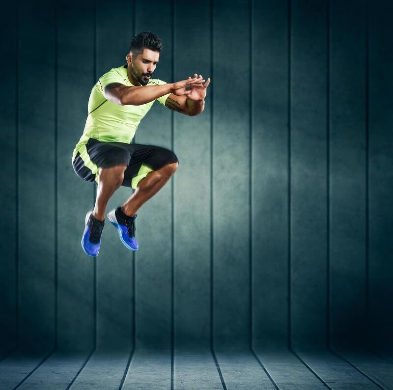 抬腿對衝刺表現的影響