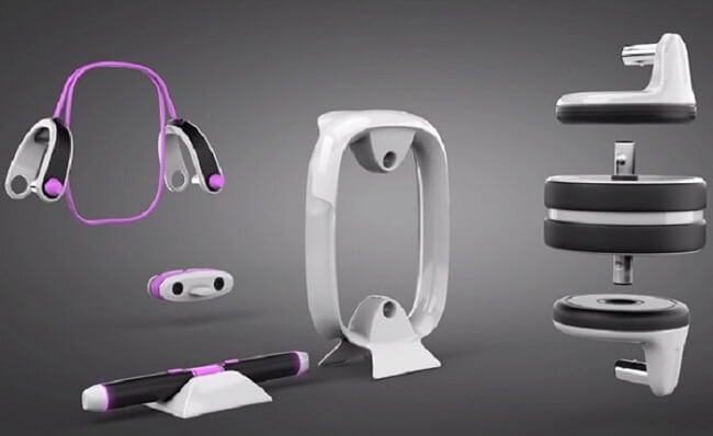 MOVE IT 私人健身房 - 萬用智能握把,智慧科技4合1